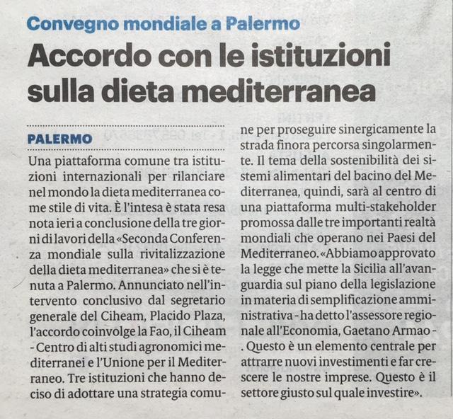 Giornale di Sicilia - 18/5/2019